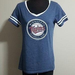 Minnesota Twins Baseball Club Blue Tee Shirt